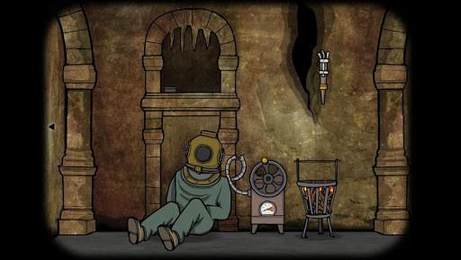 Cube Escape: The Cave APK screenshot 1
