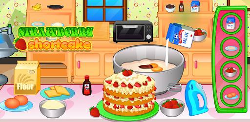 Cooking strawberry short cake pc screenshot