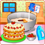 Cooking strawberry short cake APK icon