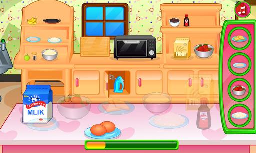 Cooking strawberry short cake APK screenshot 1