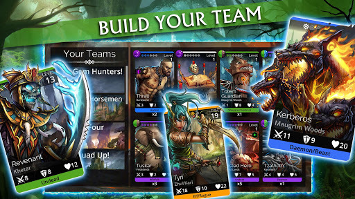 Gems of War - Match 3 RPG APK screenshot 1