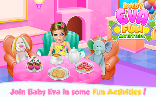 Baby Girl Fun Activities APK screenshot 1