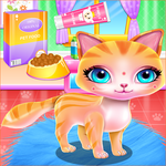 Cute Kitty Fashionista Day for pc icon