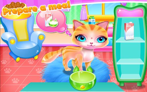 Cute Kitty Fashionista Day apk screenshot 3