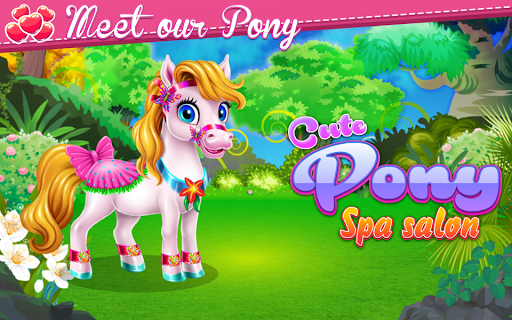 Cute Pony Spa Salon pc screenshot 1
