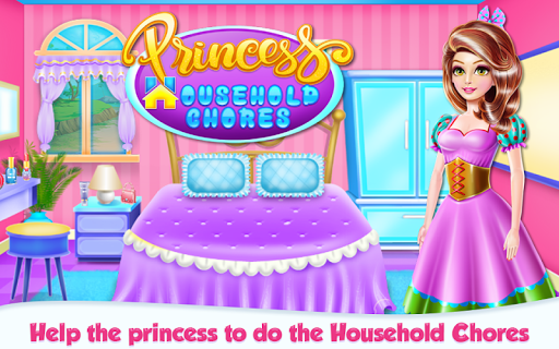 Princess House Hold Chores APK screenshot 1