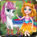 Princess Pony Fairy Salon APK icon