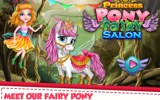 Princess Pony Fairy Salon APK screenshot 1