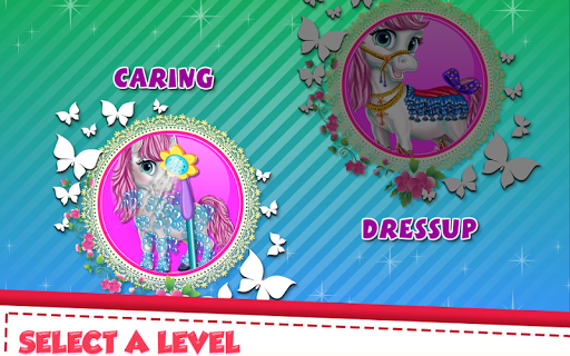 Princess Pony Fairy Salon apk screenshot 2