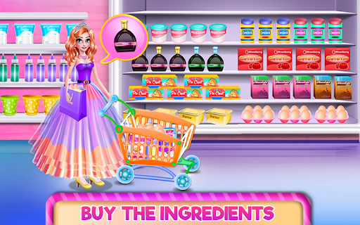 Princess Shoe Cake APK screenshot 1