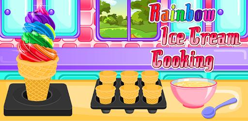 Rainbow Ice Cream Cooking pc screenshot