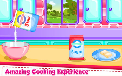 Rainbow Ice Cream Cooking APK screenshot 1