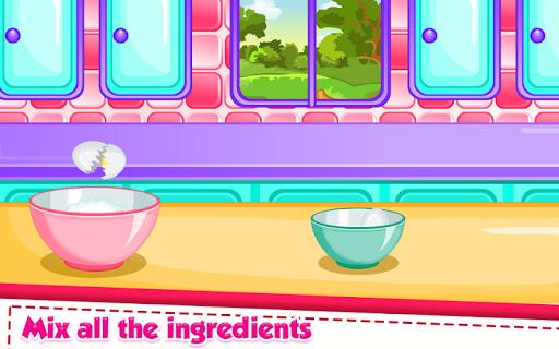 Rainbow Ice Cream Cooking APK screenshot 1