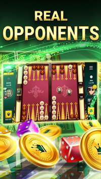 Backgammon Live - Play Online Free Board Games APK screenshot 1