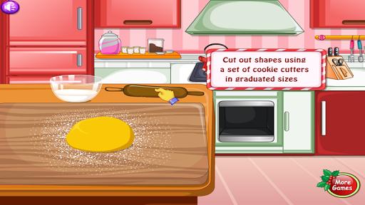 cooking cookie nice dish game for girls APK screenshot 1