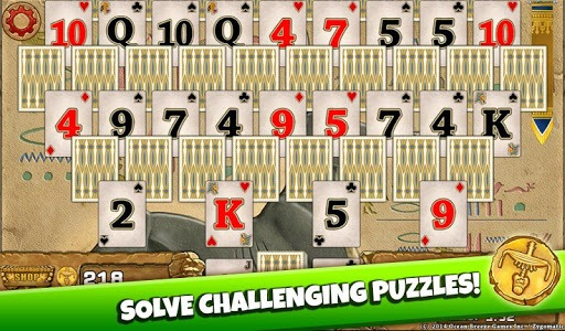 3 Pyramid Tripeaks Solitaire - Free Card Game APK screenshot 1