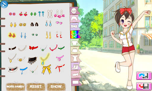 Anime School Uniforms APK screenshot 1