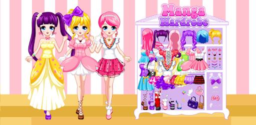Dress Up Manga Wardrobe pc screenshot