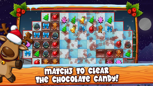 Christmas Crush Holiday Swapper Candy Match 3 Game APK screenshot 1