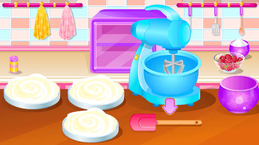 cooking games cake berries APK screenshot 1