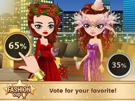 Fashion Cup - Dress up & Duel APK screenshot 1