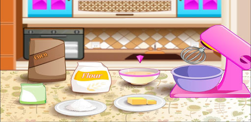 Baking and Cooking Chocolate Cake: Girl Fun Bakery pc screenshot