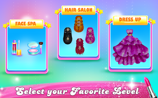 Colorful Fashion Hair Salon APK screenshot 1