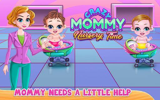 Crazy Mommy Nursery Time APK screenshot 1