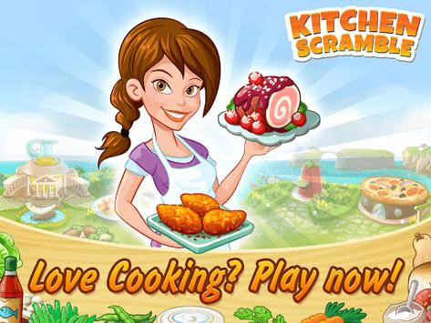 Kitchen Scramble: Cooking Game APK screenshot 1