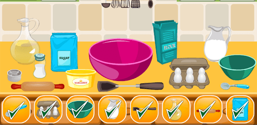 Cake Girls Games Cooking Games pc screenshot