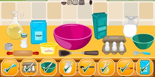 Cake Girls Games Cooking Games APK screenshot 1