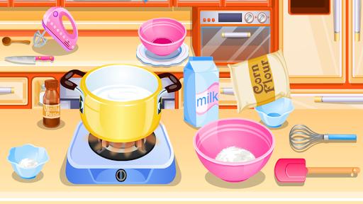 cook cake with berries games APK screenshot 1