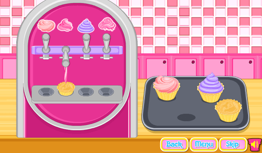 Cooking Ice Cream Cone Cupcake APK screenshot 1