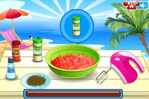 Mini Burgers, Cooking Games APK screenshot 1