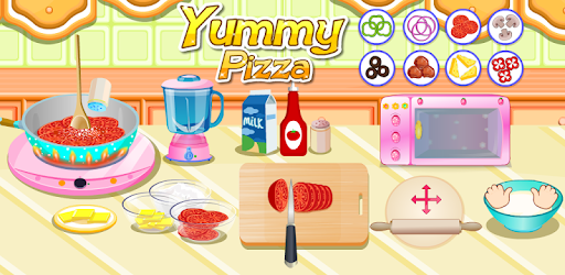 Yummy Pizza, Cooking Game pc screenshot