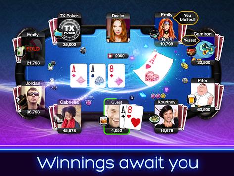TX Poker - Texas Holdem Poker APK screenshot 1