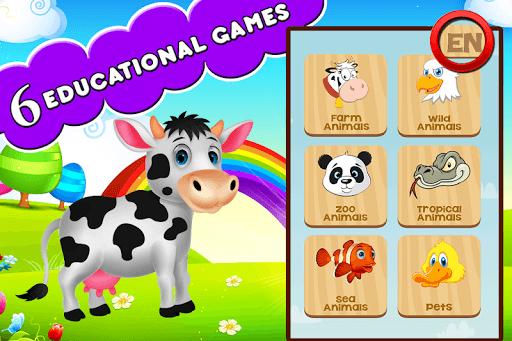 Farm Animals For Toddler APK screenshot 1