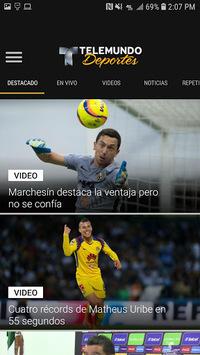Telemundo Deportes APK screenshot 1
