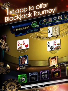 Blackjack 21 - World Tournament APK screenshot 1