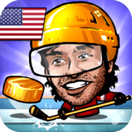 🏒Puppet Ice Hockey: Pond Head 🏆 icon