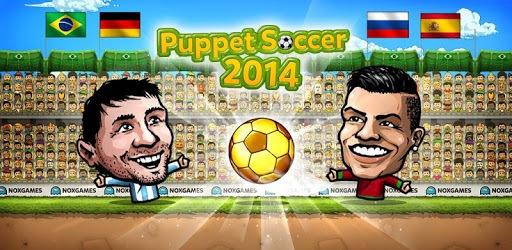 ⚽Puppet Soccer 2014 - Big Head Football 🏆 pc screenshot