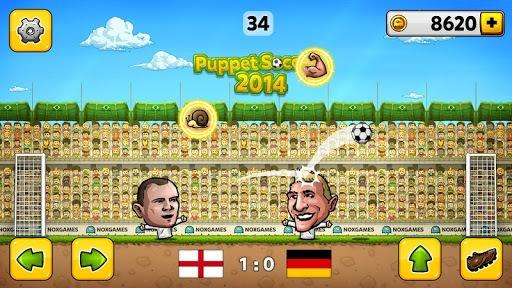 ⚽Puppet Soccer 2014 - Big Head Football 🏆 APK screenshot 1
