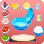 Cooking Games Pizza games girls icon