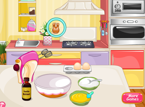 pizza cookies cooking girls APK screenshot 1