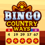 Bingo Country Ways: Free Bingo Game – Live Bingo icon