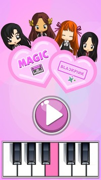 Magic Tiles - Blackpink Edition (K-Pop) APK screenshot 1