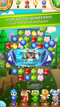 Forest Rescue: Match 3 Puzzle APK screenshot 1