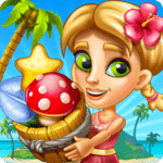 Tropic Trouble Match 3 Builder for pc icon