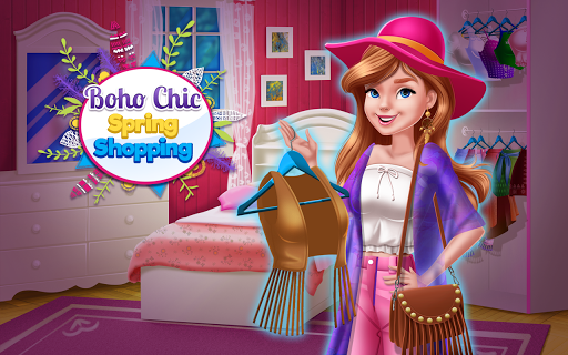 Boho Chic Spring Shopping APK screenshot 1