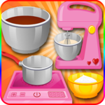 cook cake games hazelnut icon